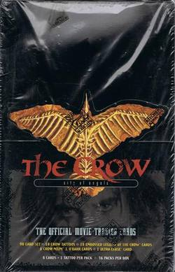 Buy The Crow City of Angels Trading Cards (36CT) Box in AU New Zealand.