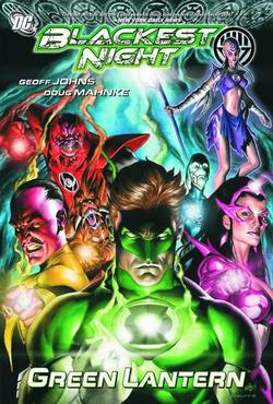 Buy BLACKEST NIGHT GREEN LANTERN TP in AU New Zealand.