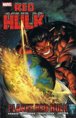 Buy RED HULK PLANET RED HULK TP in AU New Zealand.
