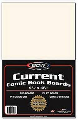 Buy BCW Comic Backing Boards Current Size in AU New Zealand.
