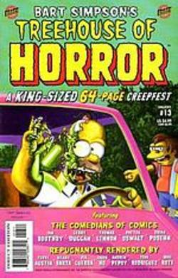 Buy Bart Simpson's Tree House Of Horror #13 in AU New Zealand.