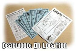 Buy Cheapass Games: Deadwood On Location in AU New Zealand.