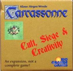 Buy Carcassonne Cult Seige & Creativity in AU New Zealand.