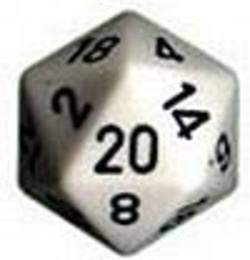 Buy Opaque Jumbo 34mm D20 White with Black in AU New Zealand.