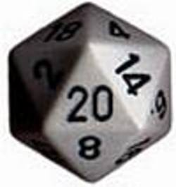 Buy Opaque Jumbo 34mm D20 Dark Grey with Black in AU New Zealand.