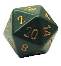 Buy Opaque Jumbo  34mm D20 Dusty Green/Copper in AU New Zealand.