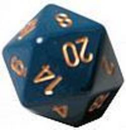 Buy Opaque Jumbo 34mm D20 Dusty Blue with Copper in AU New Zealand.