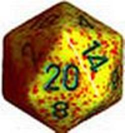 Buy Speckled Jumbo 34mm D20 Lotus in AU New Zealand.
