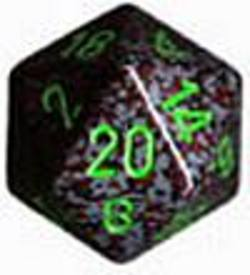 Buy Speckled Jumbo 34mm D20 Earth in AU New Zealand.