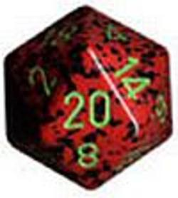 Buy Speckled Jumbo 34mm D20 Stawberry in AU New Zealand.