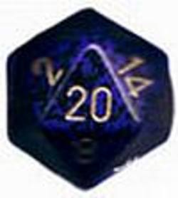 Buy Speckled Jumbo 34mm D20 Golden Cobalt in AU New Zealand.