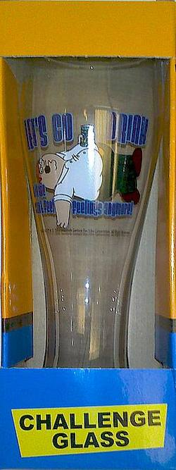 Buy Family Guy Challenge Glass - Let's Go Drink in AU New Zealand.