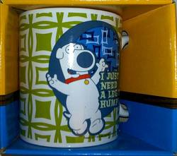 Buy Family Guy Brian Coffee Mug - I Just Need a Leg to Hump! in AU New Zealand.