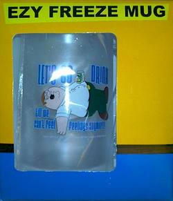 Buy Family Guy Ezy Freeze Mug - Let's Go Drink in AU New Zealand.