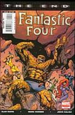 Buy Fantastic Four: The End #4 in AU New Zealand.