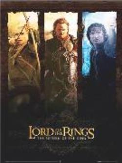 Buy Lord Of The Rings Trio Poster (Slight Damage) in AU New Zealand.