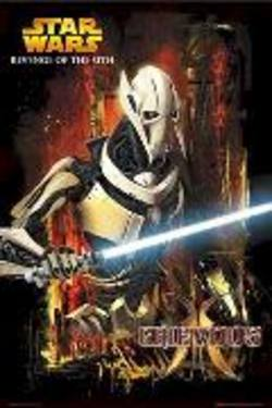 Buy Star Wars Episode lll Grievous Poster in AU New Zealand.