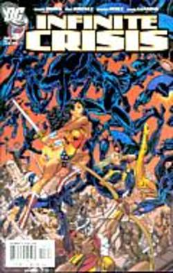 Buy Infinite Crisis #3 George Perez Cover  in AU New Zealand.