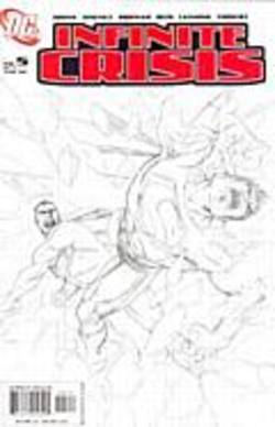 Buy Infinite Crisis #5 Jim Lee Sketch Cover in AU New Zealand.
