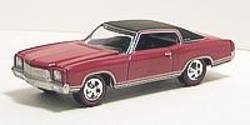 Buy Johnny Lightning: Red 1971 Chevy Monte Carlo - Super 70's in AU New Zealand.