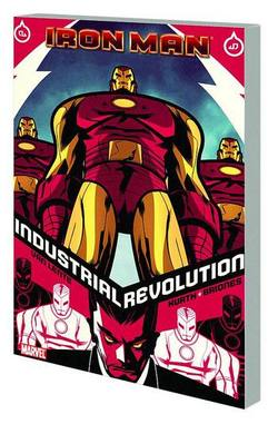 Buy IRON MAN INDUSTRIAL REVOLUTION TP in AU New Zealand.