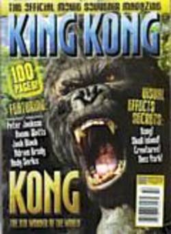 Buy King Kong: The Official Movie Souvenir Magazine  in AU New Zealand.