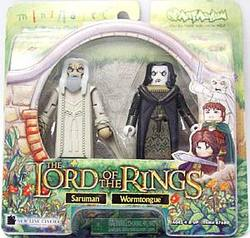 Buy Lord Of The Rings - Saruman and Wormtongue in AU New Zealand.