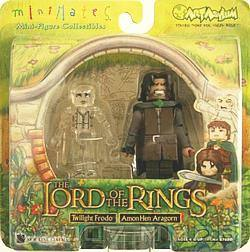Buy Lord Of The Rings - Twilight Frodo and Amon Hen Aragorn in AU New Zealand.