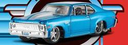 Buy Pro Rodz Pro Touring: 1970 Chevrolet Nova - Blue 1/64th Scale in AU New Zealand.