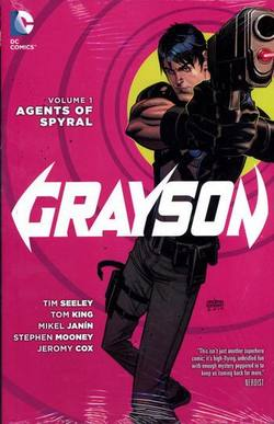 Buy GRAYSON VOL 01 AGENTS OF SPYRAL HC (N52)  in AU New Zealand.