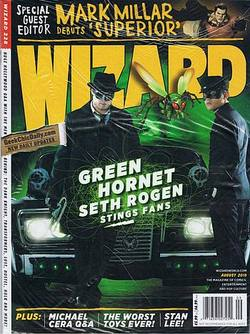 Buy Wizard Magazine #228 Aug 2010 - Green Hornet CVR in AU New Zealand.