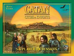 Buy Cities and Knights Of Catan 5-6 Player Expansion New Edition in AU New Zealand.