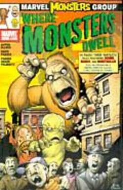 Buy Marvel Monsters Where Monsters Dwell #1 in AU New Zealand.