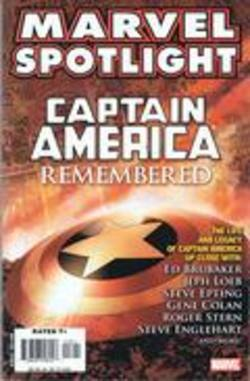 Buy Marvel Spotlight: Captain America Remembered in AU New Zealand.