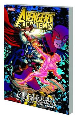 Buy AVENGERS ACADEMY VOL 02 REAL WORLD TP in AU New Zealand.