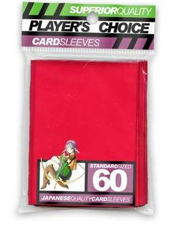 Buy Player's Choice Red Sleeves in AU New Zealand.