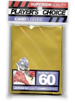 Buy Player's Choice Yu-Gi-Oh! Gold Sleeves in NZ New Zealand.