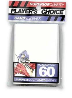Buy Player's Choice Yu-Gi-Oh! White Sleeves in AU New Zealand.