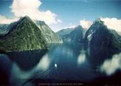Buy Fjordland New Zealand Poster in AU New Zealand.