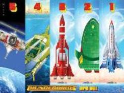 Buy Thunderbirds Vehicles Poster in AU New Zealand.