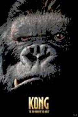 Buy Kong Face Poster in AU New Zealand.