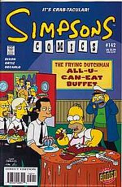 Buy Simpsons Comics #142 in AU New Zealand.