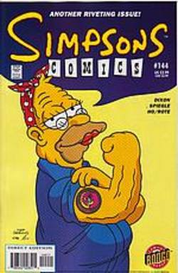 Buy Simpsons Comics #144 in AU New Zealand.