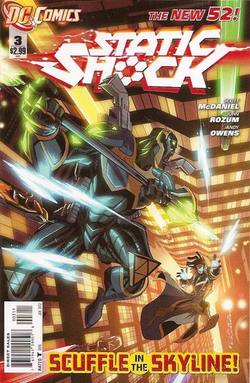 Buy Static Shock #3 in AU New Zealand.