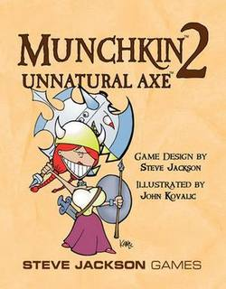 Buy Munchkin 2 Unnatural Axe in AU New Zealand.