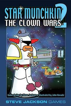 Buy Star Munchkin 2 Clown Wars in AU New Zealand.