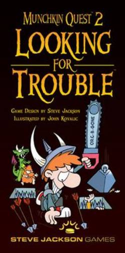 Buy Munchkin Quest 2 Looking for Trouble in AU New Zealand.