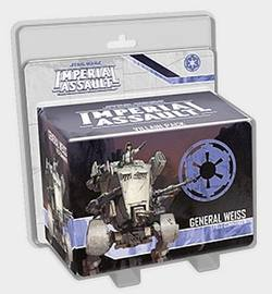 Buy Star Wars Imperial Assault: General Weiss Villain Pack in AU New Zealand.