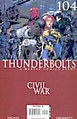 Buy Thunderbolts #104 Civil War Tie-In! in AU New Zealand.