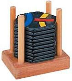 Buy Tantrix Discovery Black Tiles Wooden Stand in AU New Zealand.